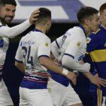 San Lorenzo derrotó 2-0 a Boca en La Bombonera por la Liga Profesional